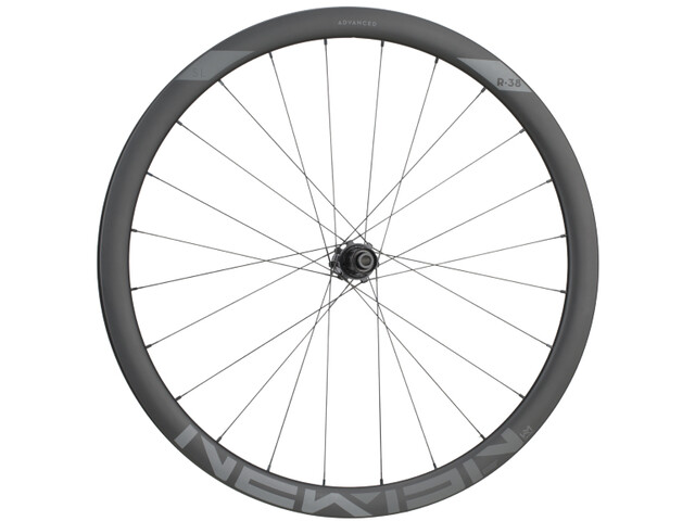 NEWMEN Advanced SL R.38 Roue arrière 12x142 mm CL Shimano Gen2, black anodised/black UD